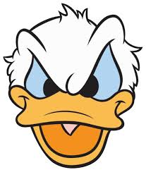 Pissed Off Face Meme - mad face donald duck angry clipart 2 clipartbarn