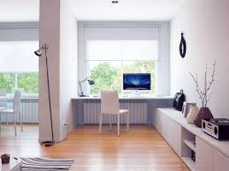 Painted Wood Floors Ideas by Home Office Calm Modern Home Office Design Ideas With Rectangle