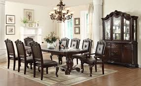 9 Pc Dining Room Sets by Kiera 9pc Formal Dining Table