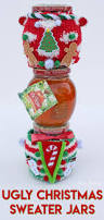 Ugly Christmas Ornament Diy Ugly Christmas Sweater Jars Contest Prizes Or Gifts