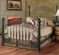 Black Metal Bed Frame Bedroom Iron Headboards Black Iron Bed Wrought Iron Bed Frame