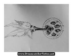 dreamcatcher wolf pencil and in color dreamcatcher wolf