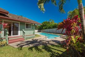 House With Pool New Listing Clean Single Level Princeville House With Pool