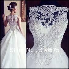 Custom Made Wedding Dress Aliexpress Wedding Dresses Luxury Princess Ball Gown Tulle Beaded