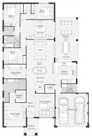 House Plans For Long Narrow Lots Stoneleigh Display Home Lifestyle Floor Plan Dream Home