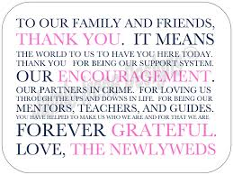 wedding thank you cards appealing wording for wedding thank you
