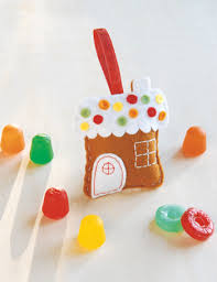 fa la la la felt gingerbread house ornament sew sew