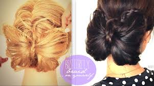 butterfly hair butterfly braid tutorial bun hairstyles for