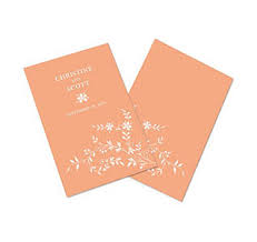 fan shaped wedding programs wedding programs personalized wedding programs