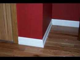 Hardwood Floor Molding Floor Molding Floor Molding Before Or After Carpeta Youtube