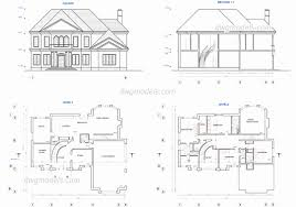 free autocad floor plans two storey house electrical plan best of free autocad floor plans
