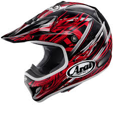 motocross bike helmets arai vx3 motocross helmet brisk red u2013 at motocross