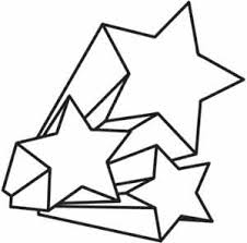shooting star coloring free download
