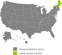 Color Map Of The United States by Felony Disenfranchisement Laws In The United States The