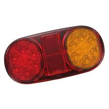 led tail lights for a trailer 2x led tail light trailer light for boat submersible indicator l