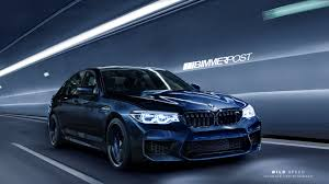 first bmw m5 this is what the new 2018 bmw m5 will probably look like