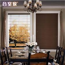 Wooden Blinds With Curtains 50mmpvc Manyplie Curtain Wood Blinds Curtains In Blinds Shades