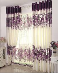 Purple Bedroom Curtains 2018 2015 Top Fashion Cortina Cafe Curtains Blinds Home Window