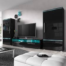 Meuble Mural Salon Tv Roche Bobois by Indogate Com Salon Noir Laque