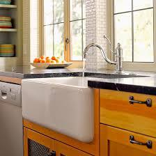Kitchen Apron Sink Apron Kitchen Sinks Better Homes Gardens