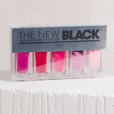 the new black floyd ombre nail polish set milk blush uk
