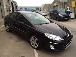 peugeot 2 door car 2007 peugeot 407 saloon 2 0l diesel in gleaming black 97 000