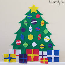 felt christmas tree ornament patterns u2013 images free download
