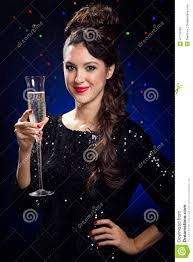 beautiful new years dresses beautiful girl in evening dress with wine glass new year s