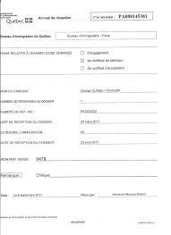 bureau d immigration du québec à ceux qui ont pas encore recue leur accuse reception dc vouloir no
