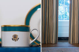 a look at the new white house state dining room