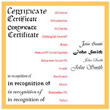 examples of certificates of completion the right and wrong way to phrase certificates
