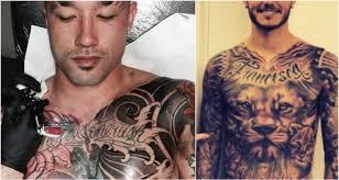 tato keren wanita indonesia 8 pemain bola dengan tubuh penuh tato garang tanpa kompromi