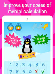icy math free addition and subtraction game for kids and adults