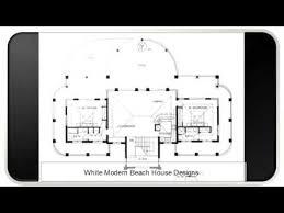 Beach Houses Floor Plans White Modern Beach House Floor Plans Youtube