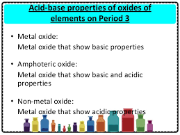 Period 3 Periodic Table Chapter 4 The Periodic Table