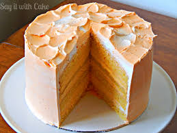 orange dreamsicle cake say it with cake