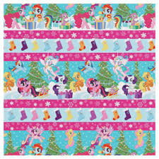 my pony christmas wrapping paper my pony wrapping paper roll gift christmas 40 sq