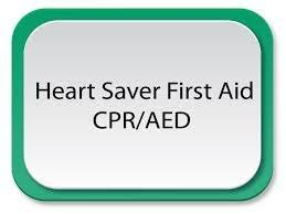 5 hr class in heartsaver cpr aed aid class child infant cpr and