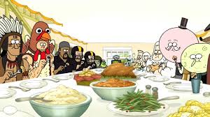 image s05e12 thanksgiving dinner2 jpg regular show wiki fandom
