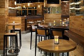 beautiful brown wood glass modern design best restaurant bar white