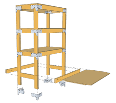 Plans For Wooden Shelf Brackets by Heavy Duty Shelving Unit Diy Done Right