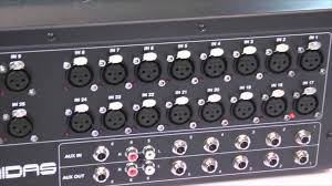 Midas 32 A Tour Of The Midas M32 Console From The Namm 2014 Show Floor