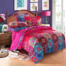 svetanya bohemia bedding sets queen king size bedlinen boho
