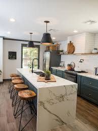 best 25 waterfall countertop ideas on pinterest marble kitchen