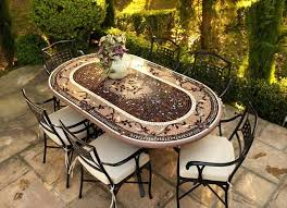 Oval Bistro Table Idea Oval Patio Table For Replacement Patio Tables 18 Argos Oval