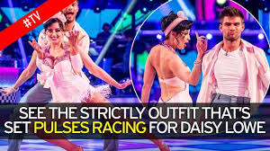 daisy lowe sets pulses racing on strictly as she shows off
