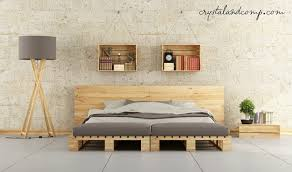 Diy Pallet Bed With Storage by Bed Frames Handmade Pallet Furniture For Sale How To Make A