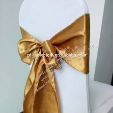 gold chair sashes silver stain chair sashes for wedding 6x106 inch buy silver