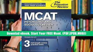mcat study guide pdf download pdf mcat psychology and sociology review graduate