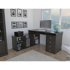 Bush Furniture Wheaton Reversible Corner Desk Regal Reversible A4 Filing Black Corner Desk Cheap Office Find